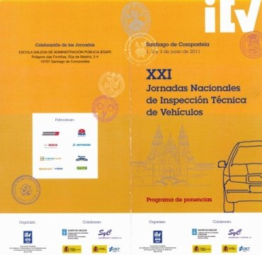 Imaxe - XXI Xornadas Nacionais de Inspección Técnica de Vehículos